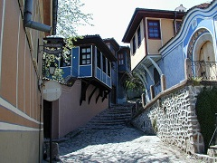 Old quarter in Plovdiv